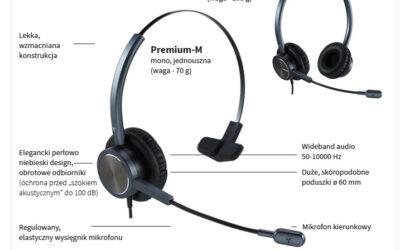 Słuchawki Platora – wybór do call center